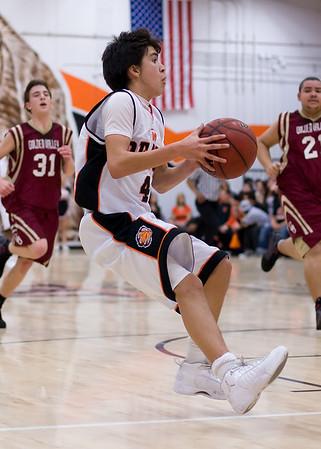 Basketball MHS vs Golden Valley Jan 21 2009
