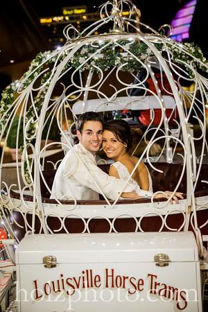Sarah & Jared Color Wedding Photos