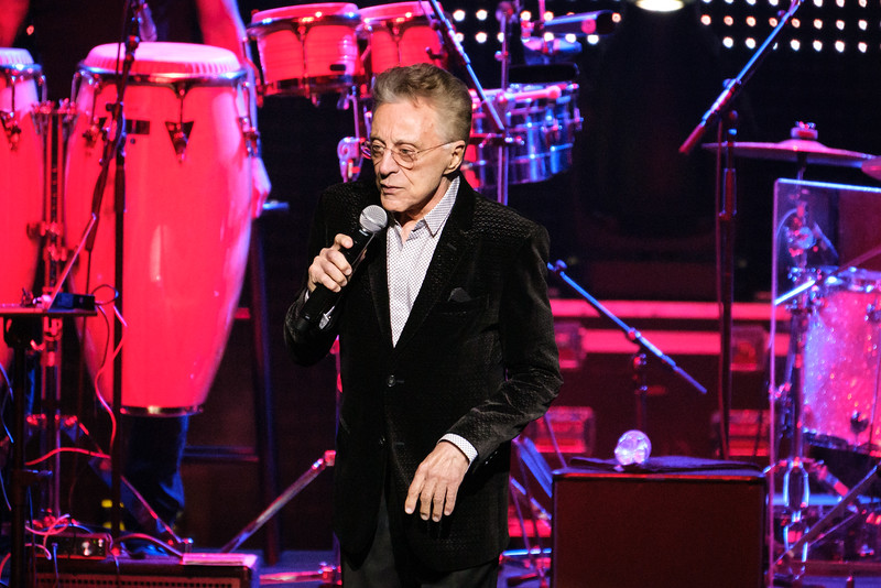 Frankie Valli show at the Rosemont Theatre on September 28