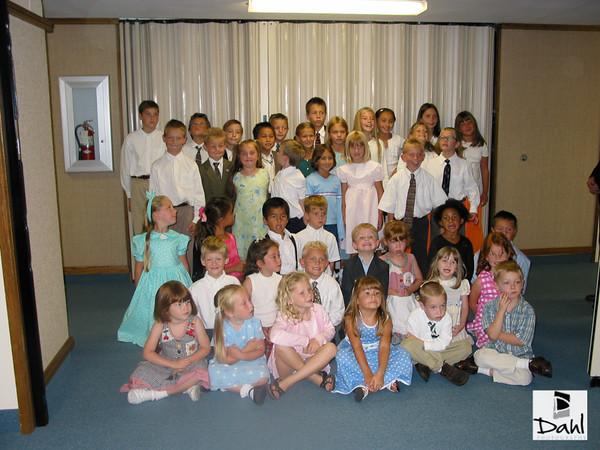 HB 7th Ward Primary Children 2002