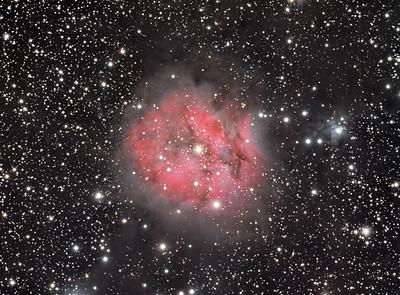 Nebulae in color