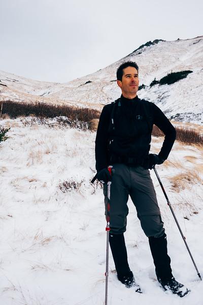 Hiking at Mist Mountain