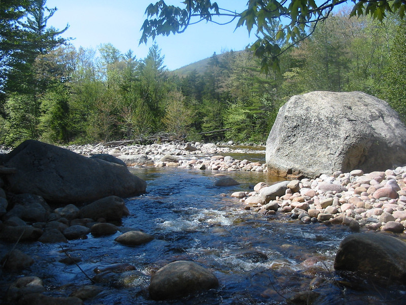 East Branch and another big boulder