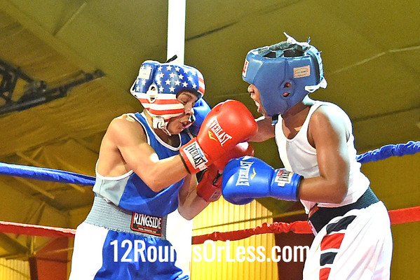 Bout 14 Luis Burgos(Red Gloves), Freddies BC -vs- Tyrese Handerson, DNA Level C BC, 100 lbs, Intermediate