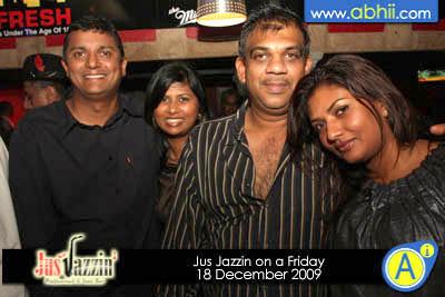 Jus Jazzin - 18th December 2009
