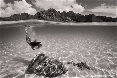 TAHITI, PORTRAITS POLYNESIENS