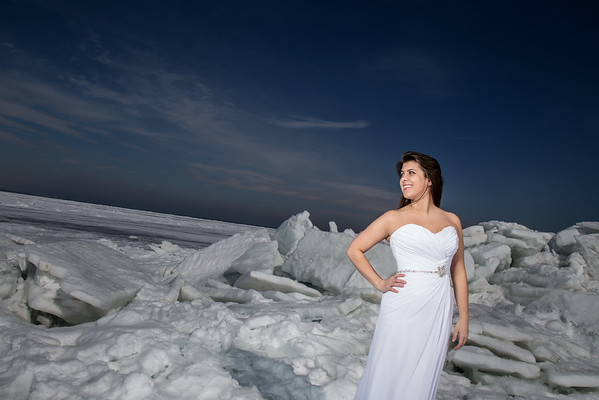 Ice Bride Bridal Shoot - BridesWorld/TuxWorld