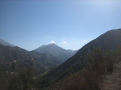 Mt Lukens via Stone Canyon 10-18-14