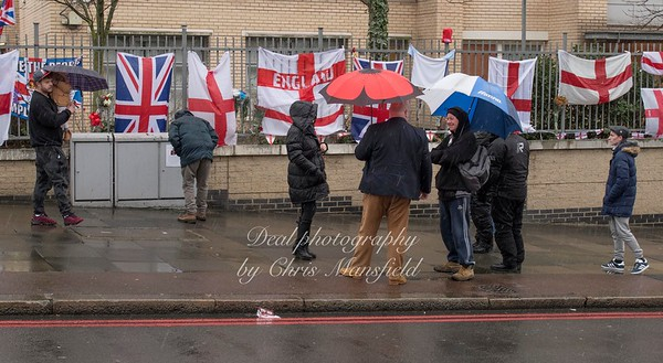 Jan' 21st 2018.  Tribute to Fusilier Lee Rigby