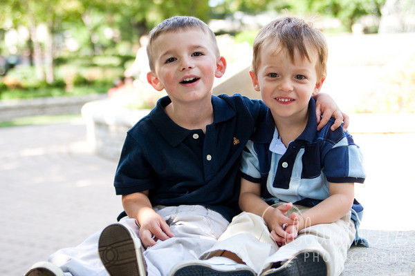 Noah and Holden - August 20, 2009