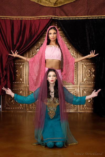 Arabian Theme photoshoot
