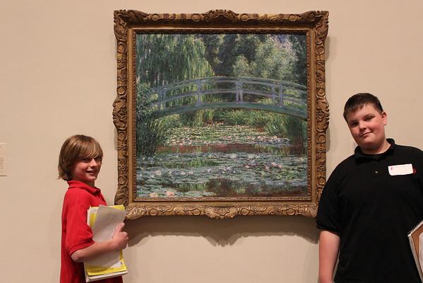 MS visits Philadelphia Museum of Art