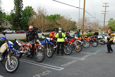 ADV March 29 2008 Santa Clara divide trip