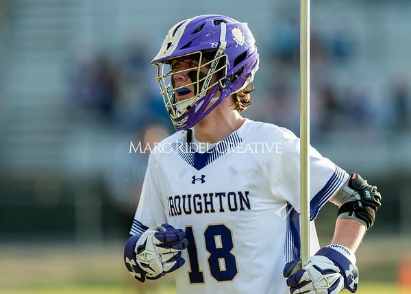 Broughton boys varsity lacrosse vs Enloe. March 10, 2020. D4S_8000
