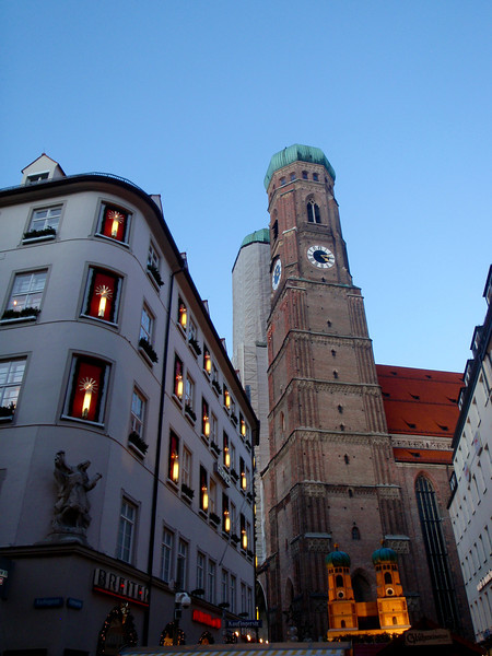 Christmastime in Munich, Germany