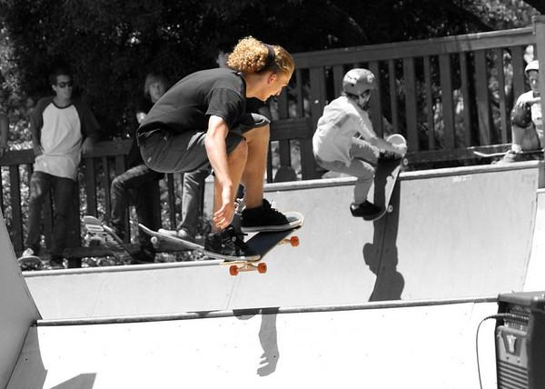 Cambria Skate Contest