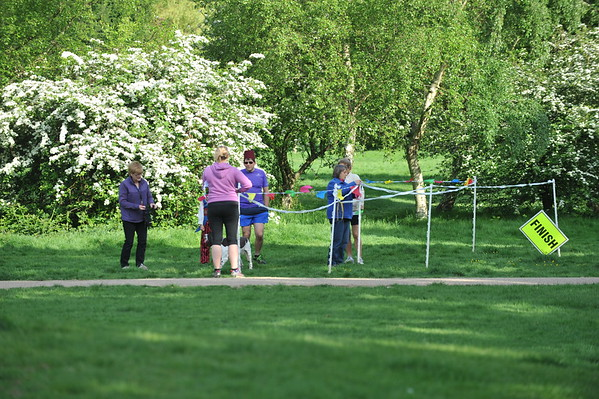 Eastleigh parkrun - 6th Birthday (#307) -  14/5/16