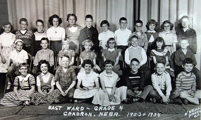 It's remarkable, isn't it.....that most of these kids made it to the Fourth Grade!  Send names, please, to:  Dawes County Journal.