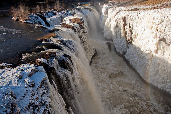 Winter - Great Falls - Paterson, NJ