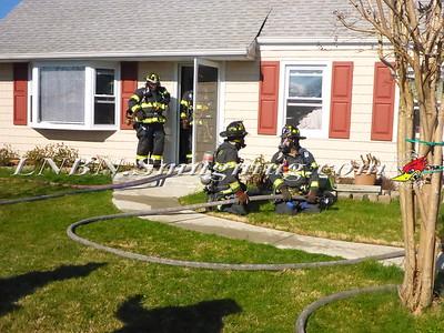 Wantagh F.D.  House Fire 21 Harrow Lane 4-3-16