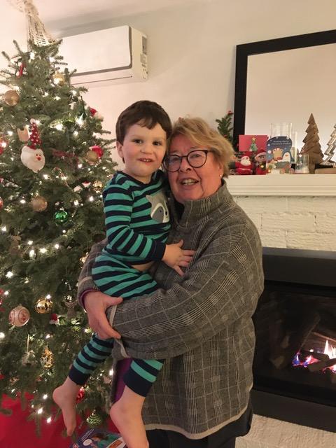Sharon & grandson