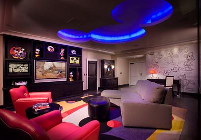 Inside the Disneyland Hotel Mickey Mouse Penthouse at Disneyland Resort
