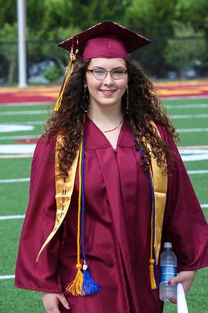 Cherokee High School graduation, June 2