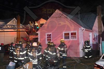 Westbury F.D. Working Fire  Kinkle St. 12/29/20
