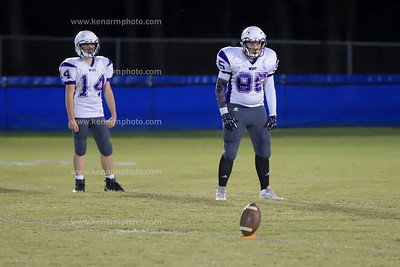 West Bladen vs  Whiteville 2019 jv football