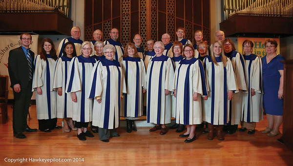 Saint John Lutheran Choir April 2014