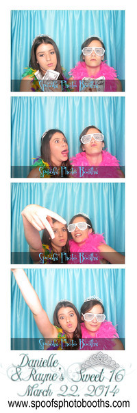 Danielle and Rayne's Sweet 16 Free Downloads