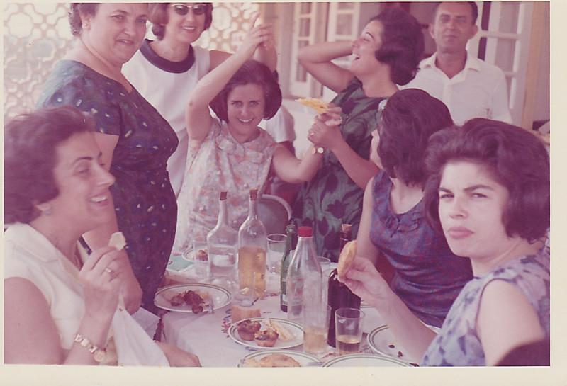 Judite Mendonça, Celeste Pombo, Teresa Adalberto, Aurora Tavares, Lurdes Pereira, Rui Inacio, Graça Pinto das Gaiolas e Manuela Brazinha