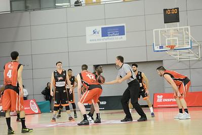 Basketball England Mens National Cup Final 2016