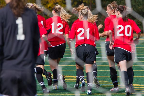 Carleton Ravens Womens Soccer 2010 - 2011 Season