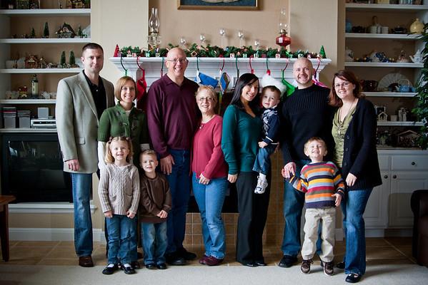 Hackbarth Family - Christmas 2010