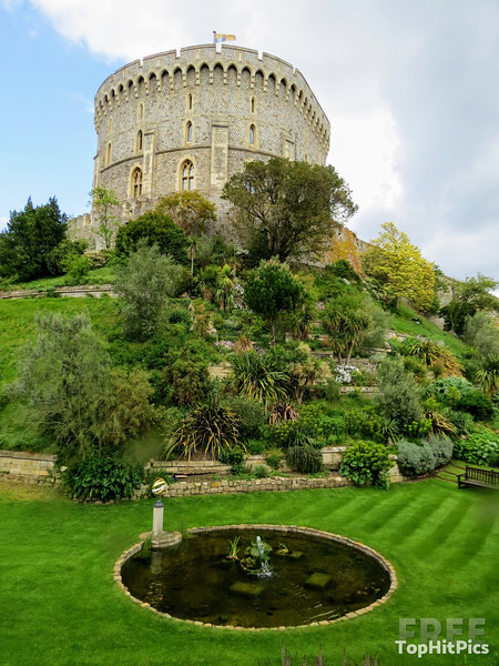 Windsor Castle The Home of The British Royal Family in Windsor, Berkshire, England