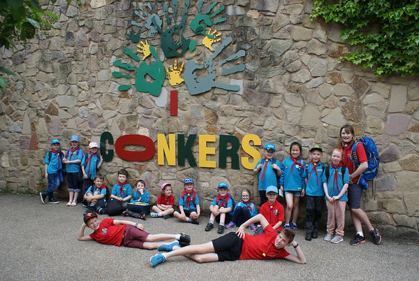 2017-05-27 Beavers Trip to Conkers