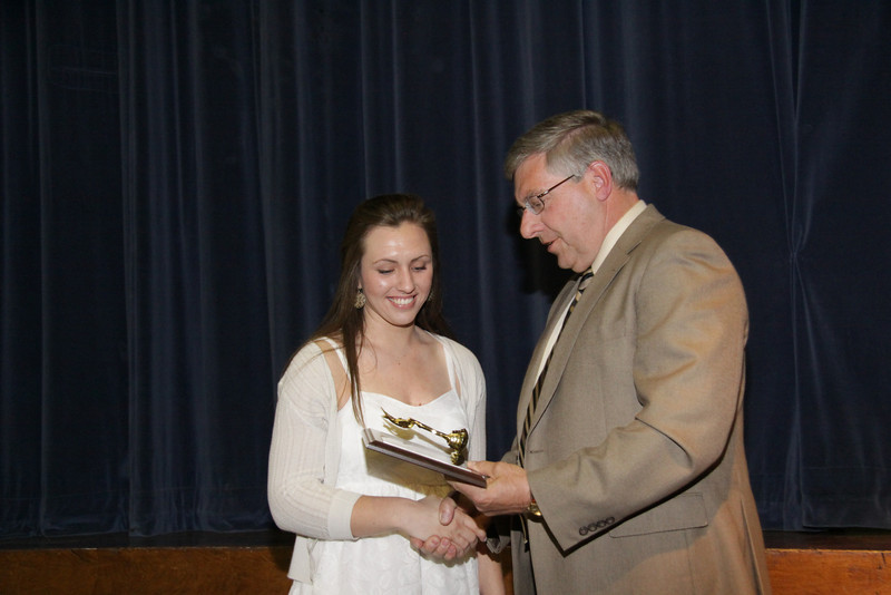 Awards Night 2012 - Longhorn Athlete of the Year