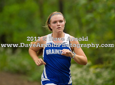 9/20/2011 - Girls Varsity Cross Country - Braintree, Dedham, Needham