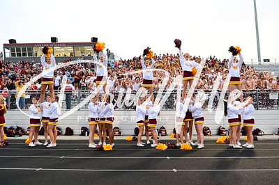 Ankeny Hawks Homecoming -Student Section Cheer Dance Marching Band 09182021