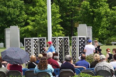 2016 Fallen Veterans Moving Wall Ceremony