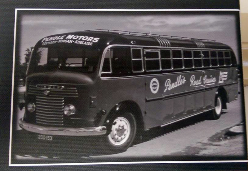 A Commer Coach with Lawton bodywork from the late 1950's. (Image from the Pendle Family Collection)