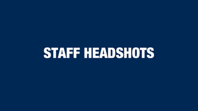 Staff Headshots
