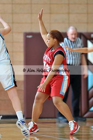 Girls JV Basketball - Everett at Okemos - Feb 22