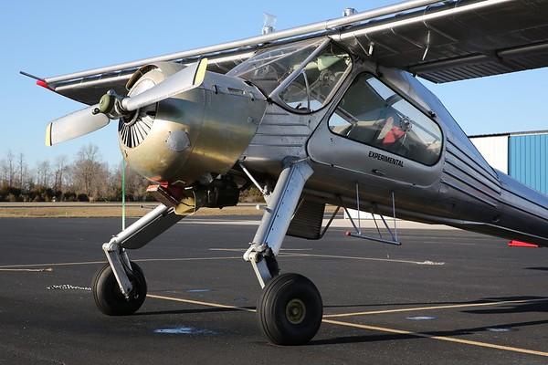 """1974 PZL-104 """"Wilga"""", Sparta, 05Jan20"""