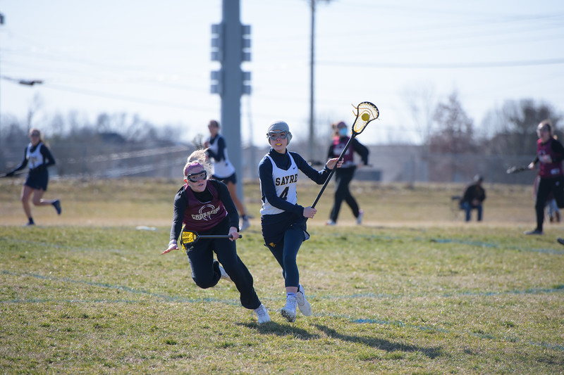 Sayre Girls Lacrosse Woodford Jamboree
