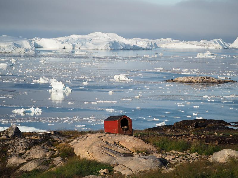 Disko Bay in Ilulissat, Greenland