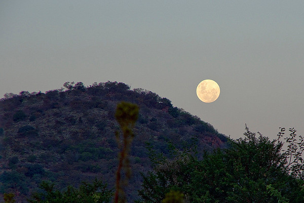 Full Moon Rise in May (3 Photographs)