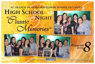 High School Night 2019 Photobooth