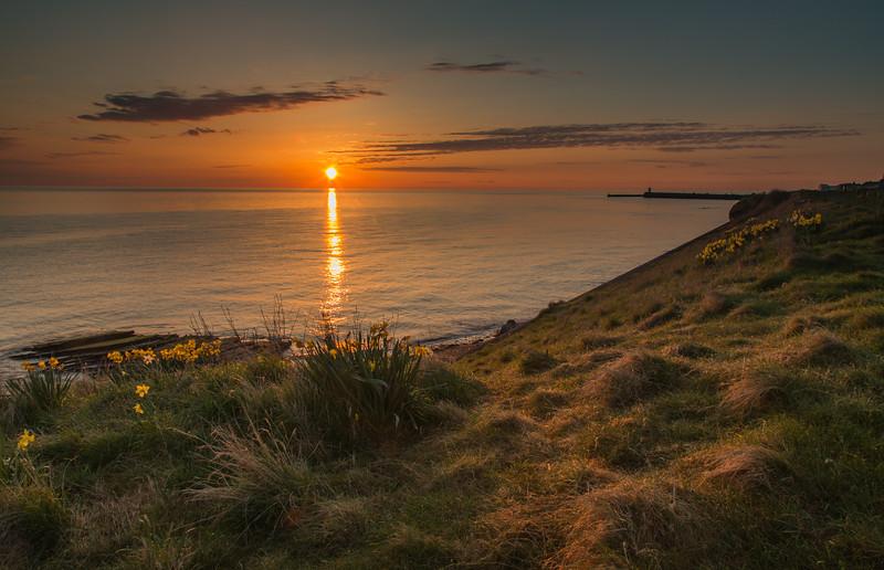 Seahouses - Sunrise - Northumberland (April 2018)